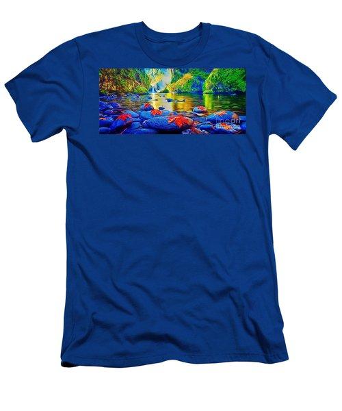 More Realistic Version Men's T-Shirt (Athletic Fit)