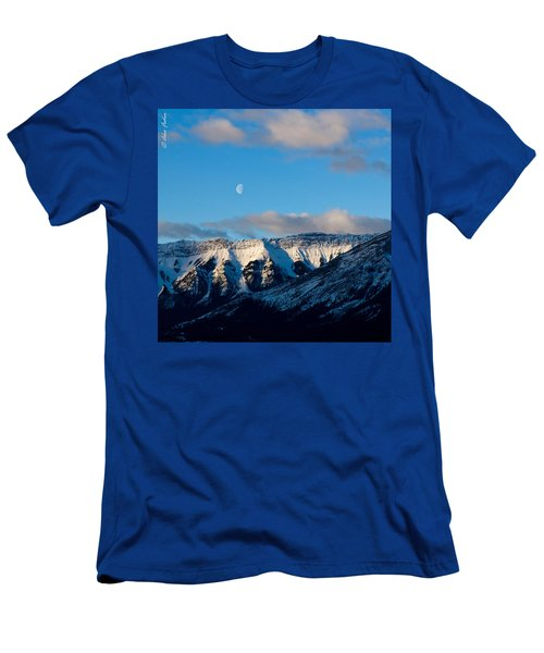 Morning In Mountains Men's T-Shirt (Athletic Fit)