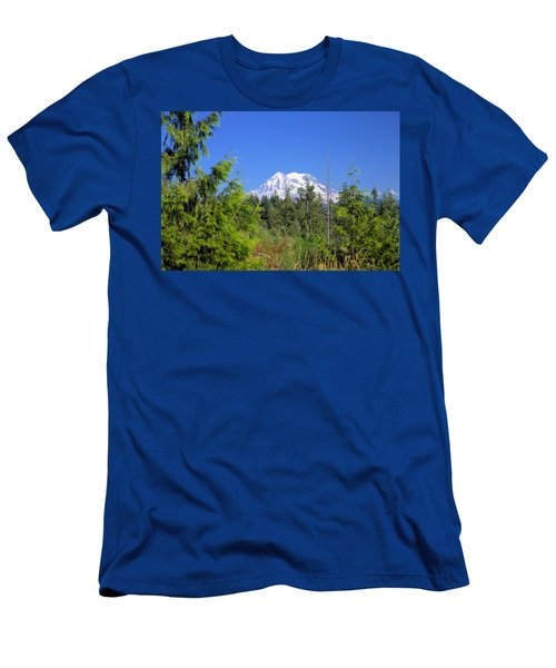 Mount Rainier Men's T-Shirt (Athletic Fit)