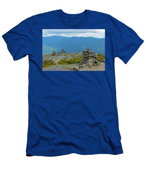 Mount Washington Rock Cairns Men's T-Shirt (Athletic Fit)
