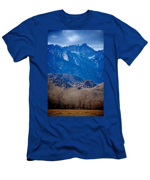 Mt. Whitney And Alabama Hills Men's T-Shirt (Athletic Fit)