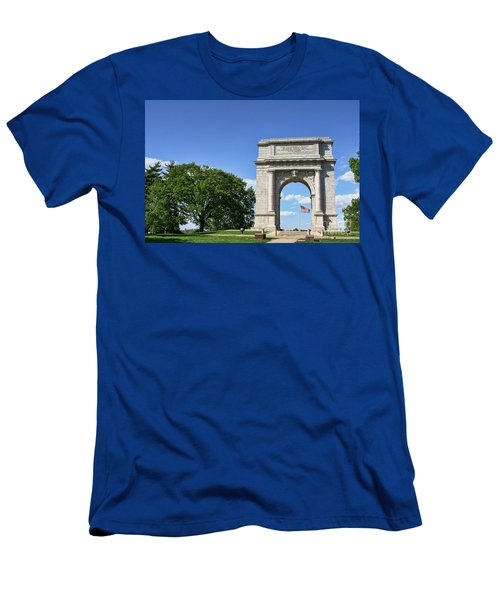 National Memorial Arch At Valley Forge Men's T-Shirt (Athletic Fit)