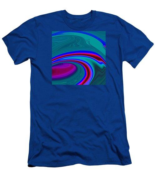Neon Wave C2014 Men's T-Shirt (Athletic Fit)