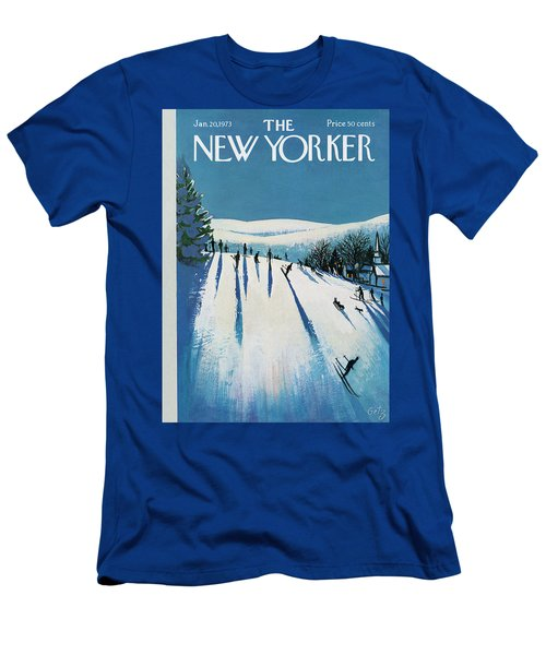 New Yorker January 20th, 1973 Men's T-Shirt (Athletic Fit)