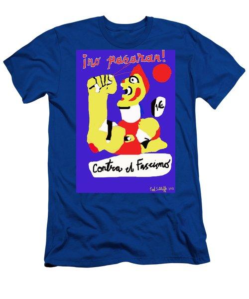 No Pasaran Men's T-Shirt (Athletic Fit)
