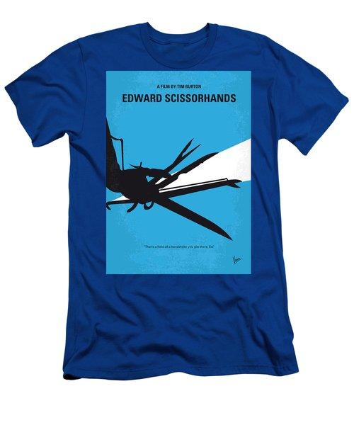 No260 My Scissorhands Minimal Movie Poster Men's T-Shirt (Athletic Fit)