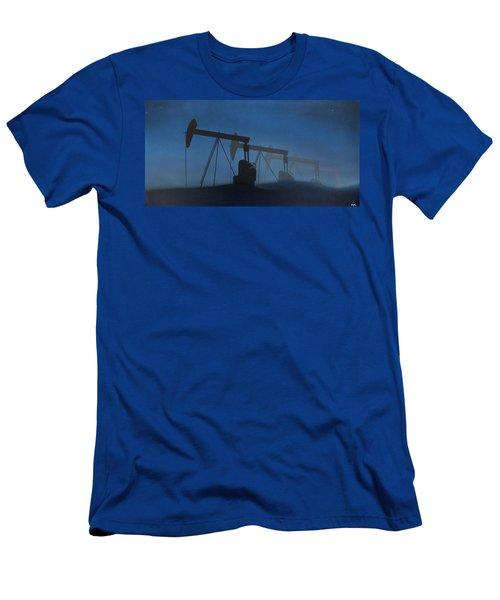 Nocturnal Donkeys Men's T-Shirt (Athletic Fit)