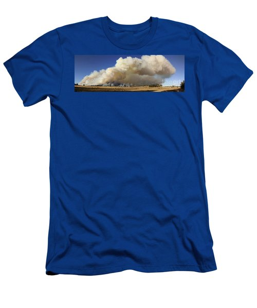 Norbeck Prescribed Fire Smoke Column Men's T-Shirt (Athletic Fit)