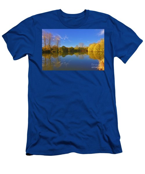 November Lake 1 Men's T-Shirt (Athletic Fit)