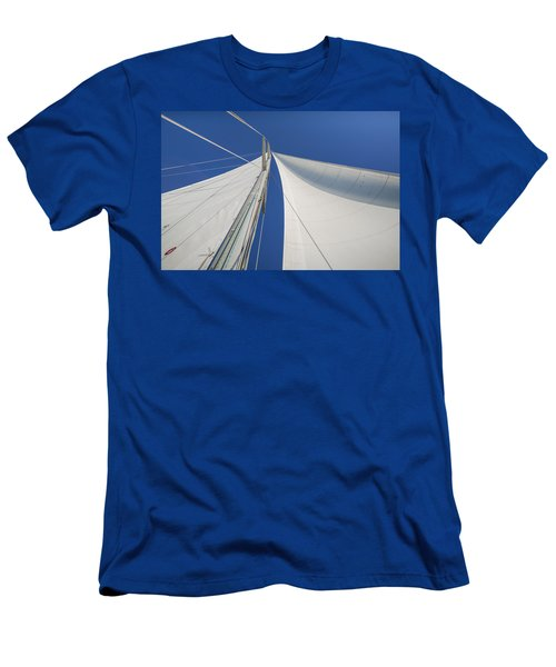 Obsession Sails 1 Men's T-Shirt (Athletic Fit)