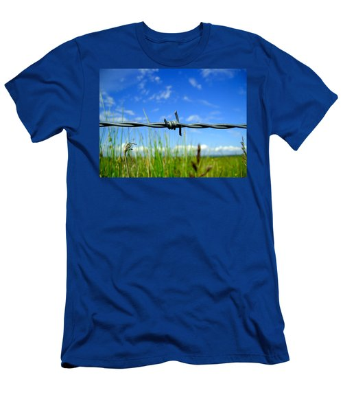 Men's T-Shirt (Slim Fit) featuring the photograph Off Limits by Nina Ficur Feenan