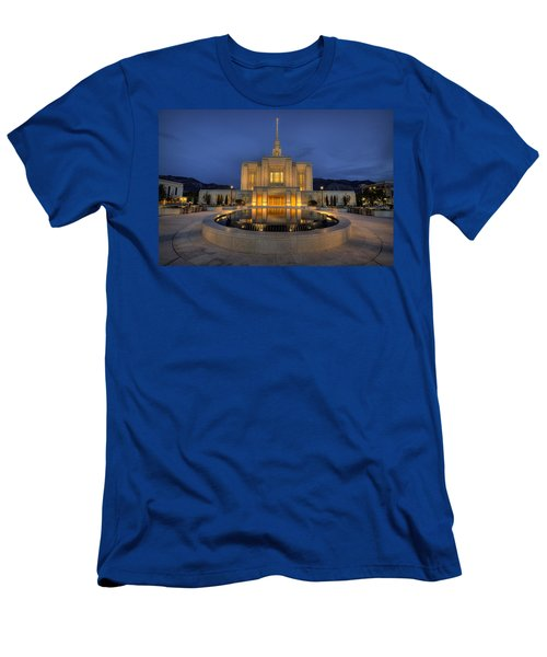 Ogden Temple Reflections Men's T-Shirt (Athletic Fit)