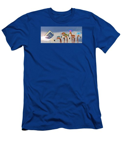 Men's T-Shirt (Slim Fit) featuring the photograph Oh When The Saints Go Marching In by I'ina Van Lawick