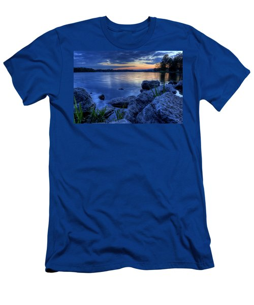Ohio Spring Sunset Men's T-Shirt (Athletic Fit)