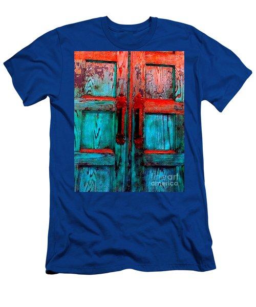 Old Church Door Handles 2 Men's T-Shirt (Athletic Fit)