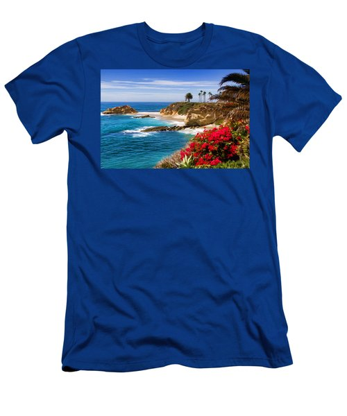 Orange County Coastline Men's T-Shirt (Athletic Fit)