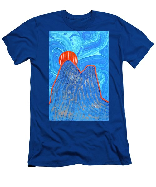 Os Dois Irmaos Original Painting Sold Men's T-Shirt (Athletic Fit)