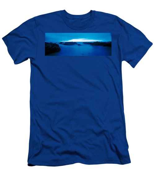 Pacific Coast Monterey Ca Usa Men's T-Shirt (Athletic Fit)