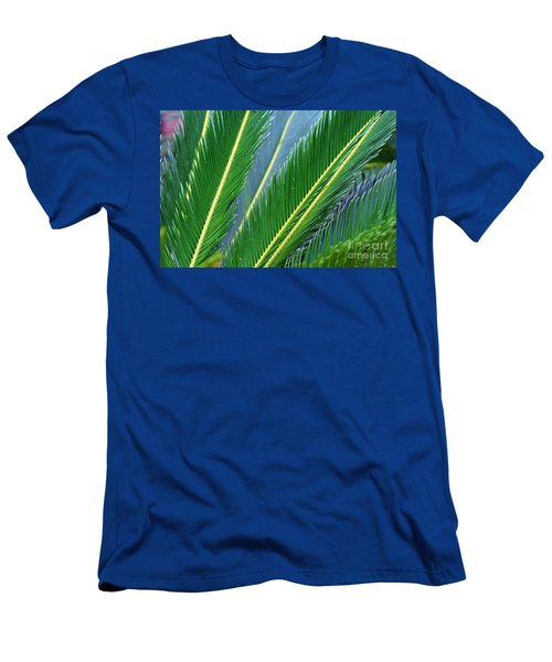 Palm Cycas Fronds Men's T-Shirt (Athletic Fit)