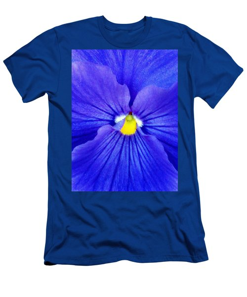 Pansy Flower 37 Men's T-Shirt (Athletic Fit)