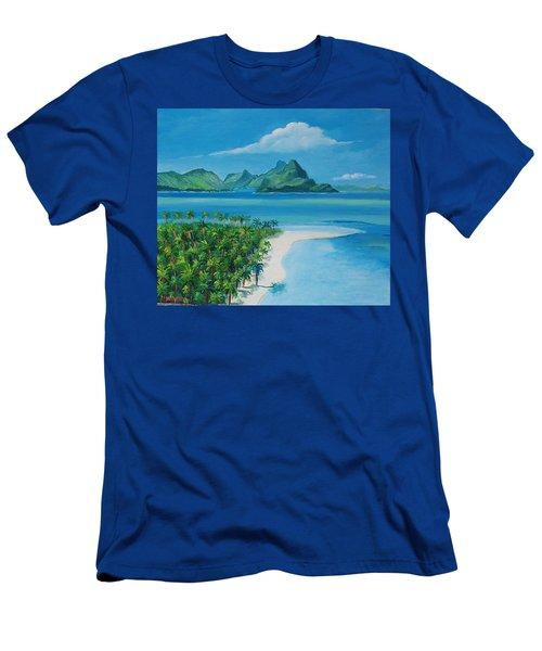 Papeete Bay In Tahiti Men's T-Shirt (Athletic Fit)