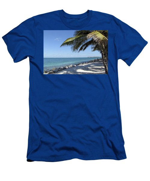 Paradise - Key West Florida Men's T-Shirt (Athletic Fit)