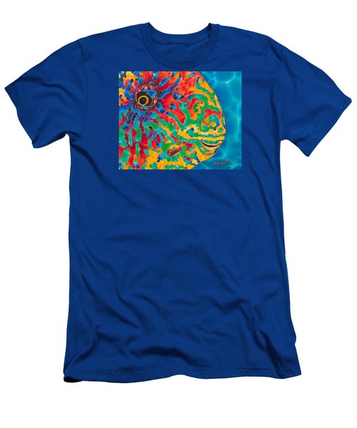 Parrotfish Men's T-Shirt (Athletic Fit)