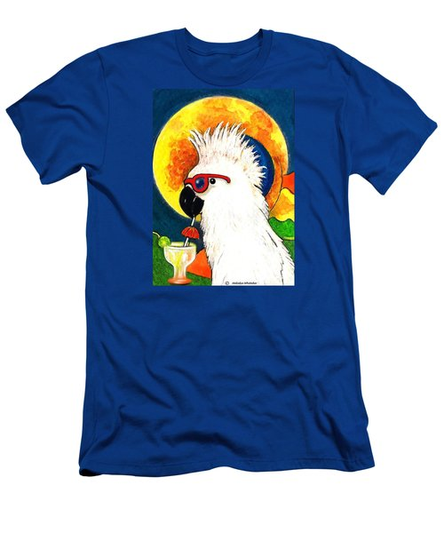 Party Parrot 1 Men's T-Shirt (Athletic Fit)