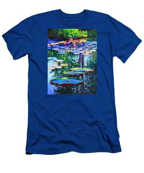 Passion For Color And Light Men's T-Shirt (Slim Fit) by John Lautermilch