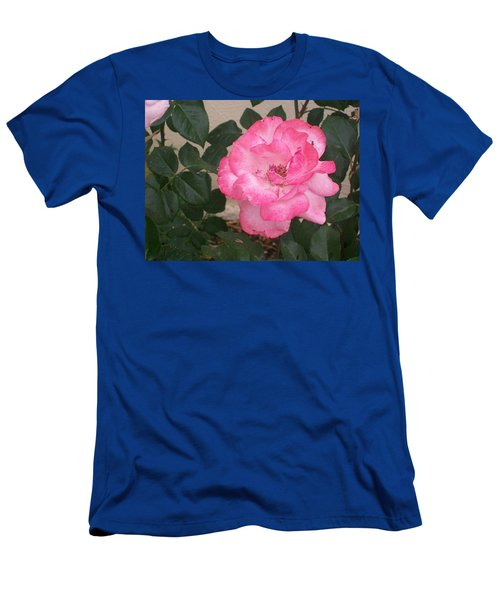 Men's T-Shirt (Slim Fit) featuring the photograph Passion Pink by Jewel Hengen