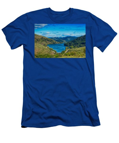 Patterson Lake In The Summer Men's T-Shirt (Athletic Fit)