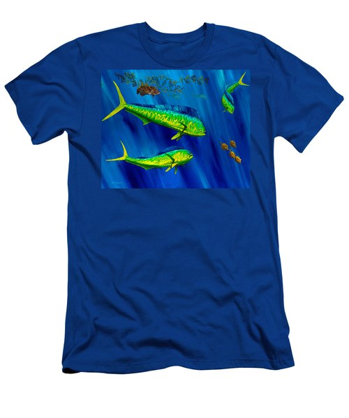 Peanut Gallery Men's T-Shirt (Slim Fit) by Steve Ozment