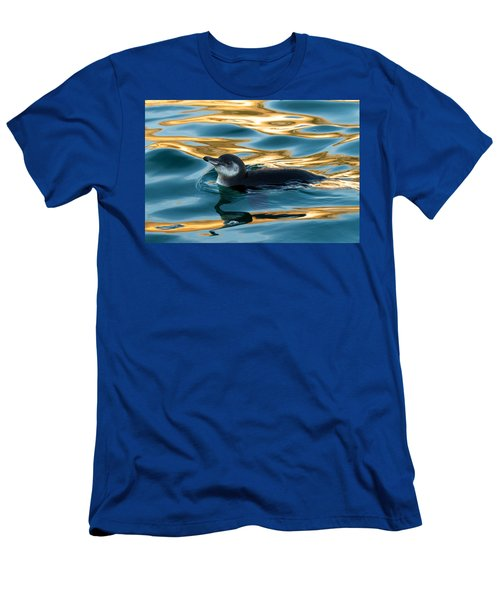 Penguin Watercolor 2 Men's T-Shirt (Athletic Fit)