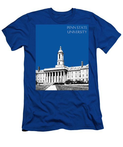 Penn State University - Royal Blue Men's T-Shirt (Athletic Fit)