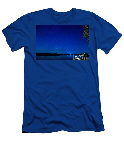 Perseid Meteor Men's T-Shirt (Athletic Fit)