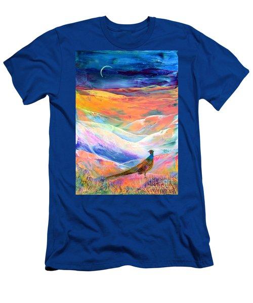 Pheasant Moon Men's T-Shirt (Athletic Fit)
