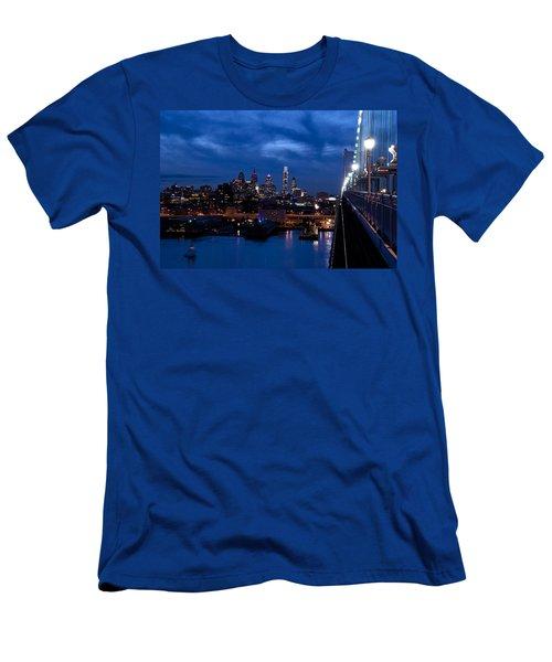 Philadelphia Twilight Men's T-Shirt (Athletic Fit)