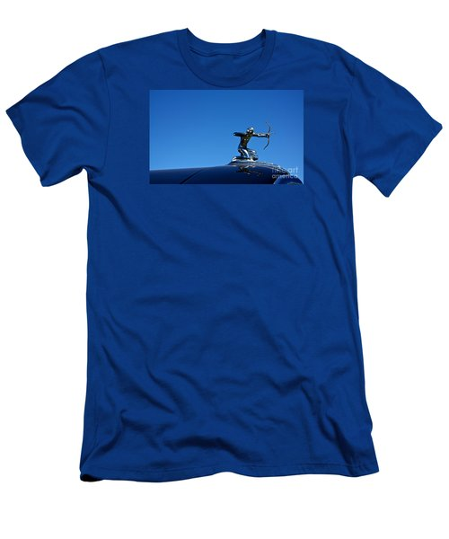 Men's T-Shirt (Slim Fit) featuring the photograph 1938 Pierce Arrow by Linda Bianic