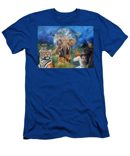 Planet Earth Men's T-Shirt (Athletic Fit)