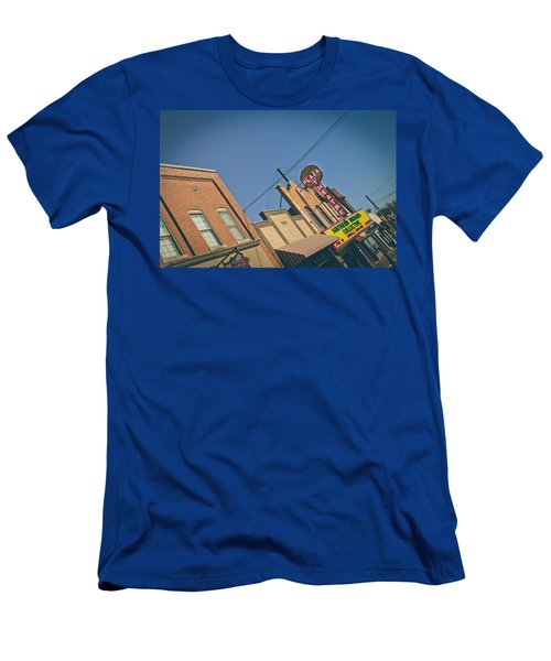 Plaza Theatre Men's T-Shirt (Athletic Fit)