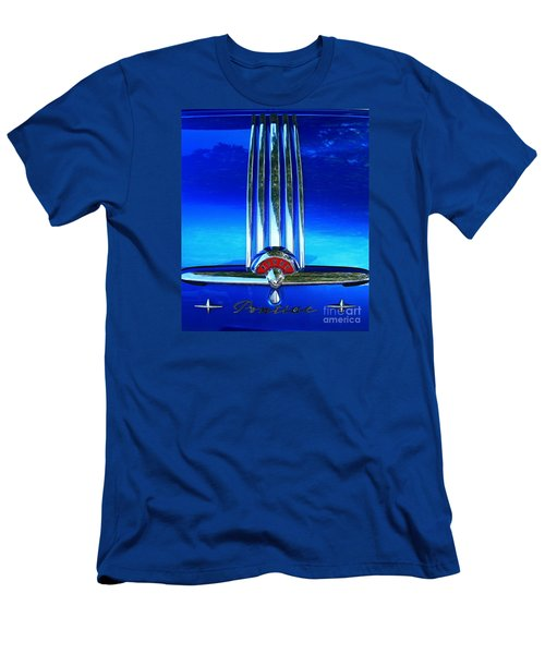 Men's T-Shirt (Slim Fit) featuring the photograph Pontiac Eight by Linda Bianic