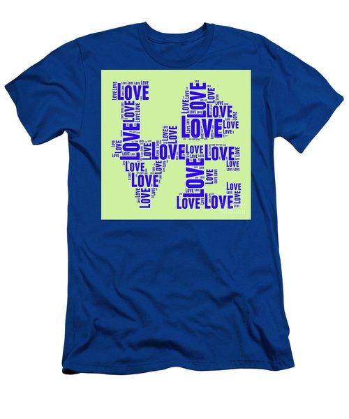 Pop Love 5 Men's T-Shirt (Athletic Fit)