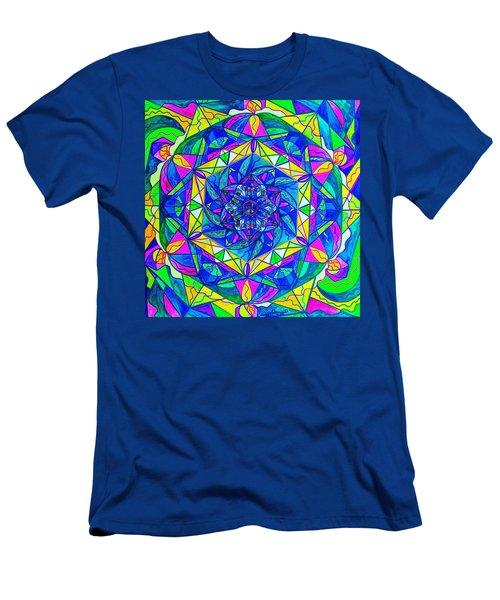 Positive Focus Men's T-Shirt (Athletic Fit)