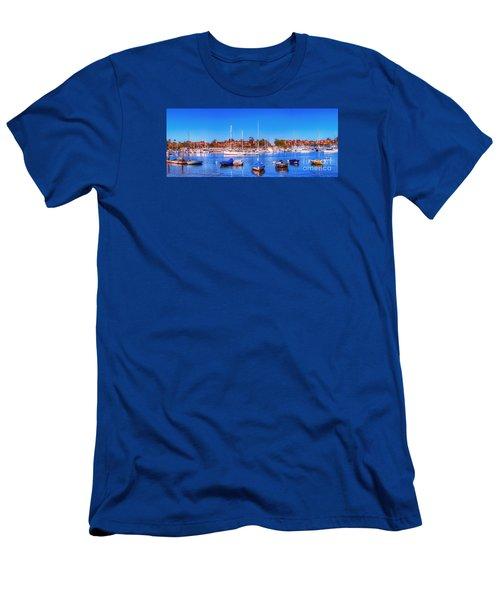Promontory Point - Newport Beach Men's T-Shirt (Slim Fit) by Jim Carrell