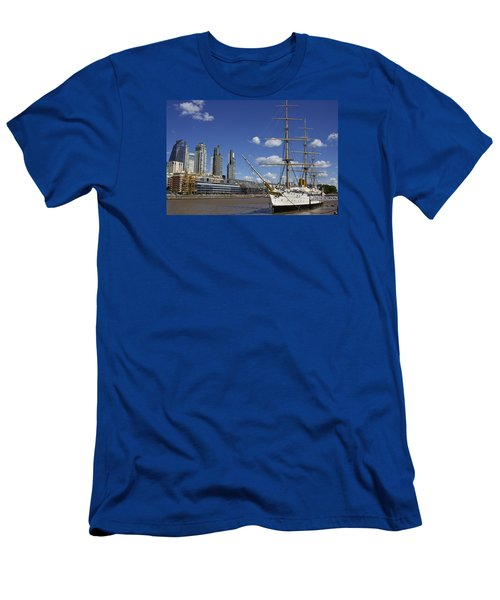 Puerto Madero Buenos Aires Men's T-Shirt (Athletic Fit)