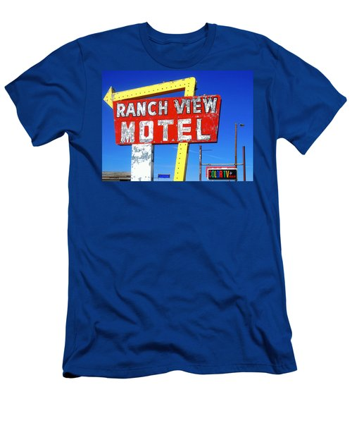 Ranch View Motel Men's T-Shirt (Athletic Fit)