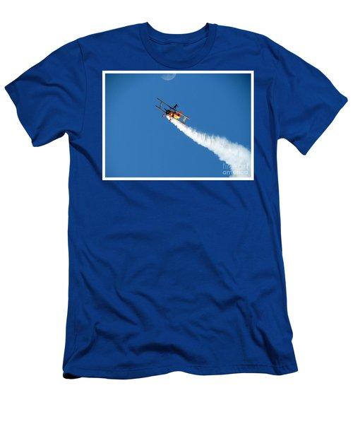Reaching For The Moon. Oshkosh 2012. Postcard Border. Men's T-Shirt (Athletic Fit)