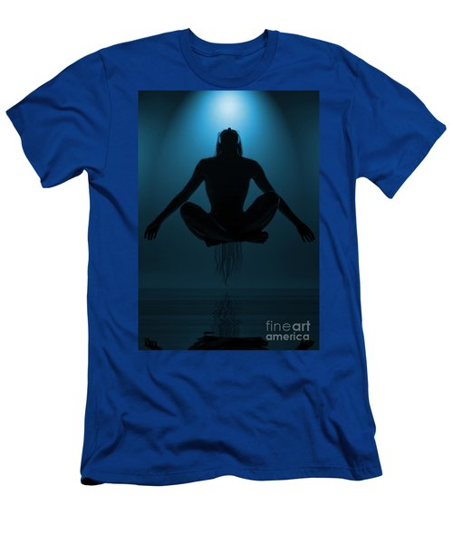 Reaching Nirvana.. Men's T-Shirt (Athletic Fit)