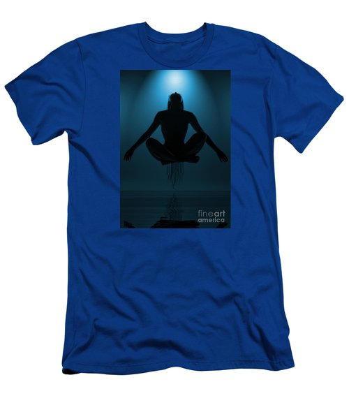 Reaching Nirvana.. Men's T-Shirt (Athletic Fit)