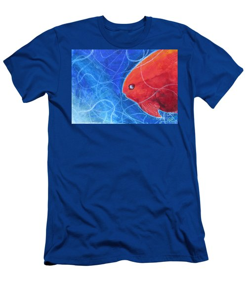 Red Fish Men's T-Shirt (Athletic Fit)